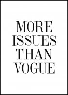 More Issues Than Vogue Juliste