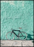 Mint Wall Bike Juliste