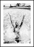 Swimmer Girl Juliste