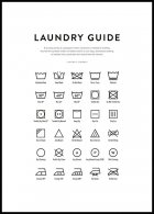 Laundry Guide Juliste
