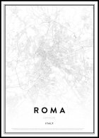 Map of Roma Juliste