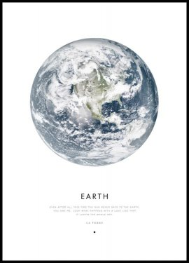 Earth Juliste