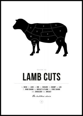 Lamb Cuts Juliste