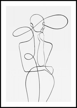 Peytil Monday Lines Juliste