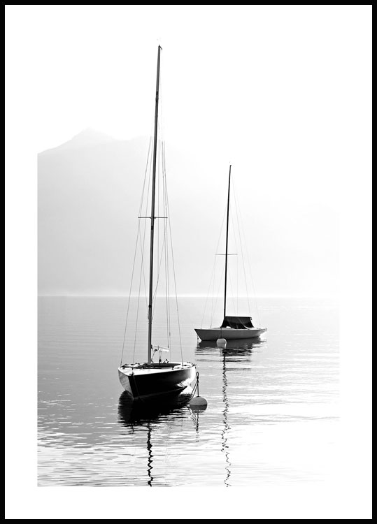 Sail Boats Juliste