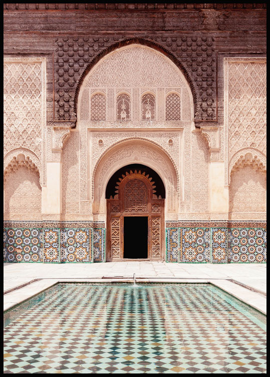 Marrakech Facade Juliste