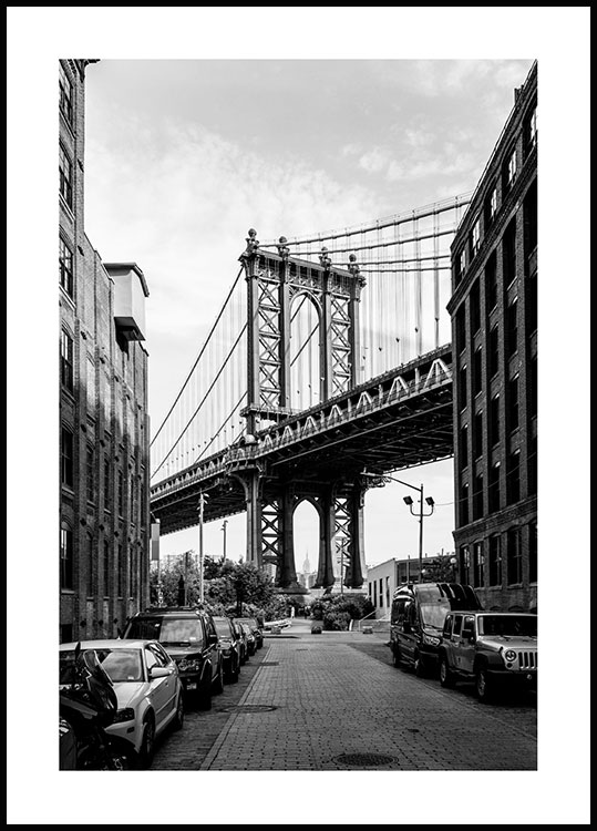 Manhattan Bridge Juliste
